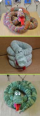 змеи вязаные