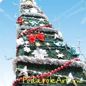 исскуственная новогодняя ель Италия