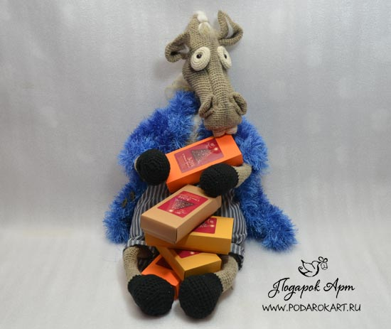 мягкая игрушка лошади - ручная работа