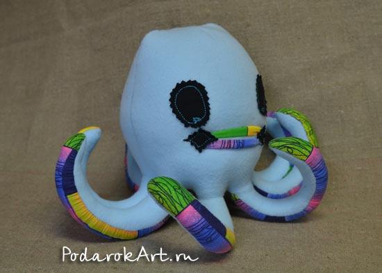 осминог мягкая игрушка