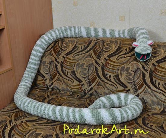 изготовление змейки мягкой игрушки - Выкройки одежды для детей и взрослых.